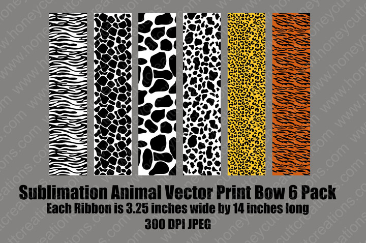 RH-Animal Print Jpeg Pack & Sublimation Designs / Patterns : Synergy 17